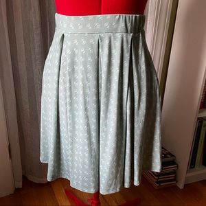 Sweet calico inspired Madison skirt from LLR